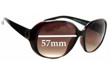 Sunglass Fix Sunglass Replacement Lenses for Marc By Marc Jacobs MMJ 150/S - 57mm Wide