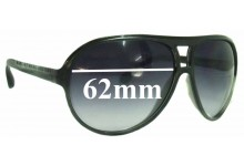 Sunglass Fix Sunglass Replacement Lenses for Marc by Marc Jacobs MMJ 135/S - 62mm Wide