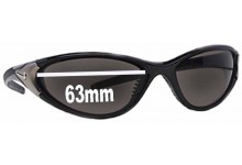 Sunglass Fix Sunglass Replacement Lenses for Nike EV0240 Roll - 63mm Wide