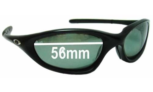 Sunglass Fix Sunglass Replacement Lenses for Oakley Twenty XX OO9157 - 56-57mm Wide