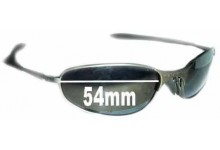 Sunglass Fix Sunglass Replacement Lenses for Oakley A-Wire 1.0 - 54mm Wide