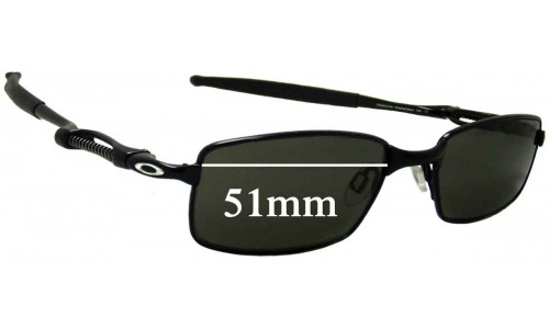 Sunglass Fix Sunglass Replacement Lenses for Oakley Coilover OX5043 - 51mm Wide