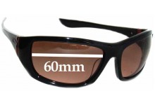 Sunglass Fix Sunglass Replacement Lenses for Oakley Disobey 60mm Wide