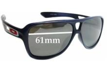 Sunglass Fix Sunglass Replacement Lenses for Oakley Dispatch II OO9150 - 61mm Wide