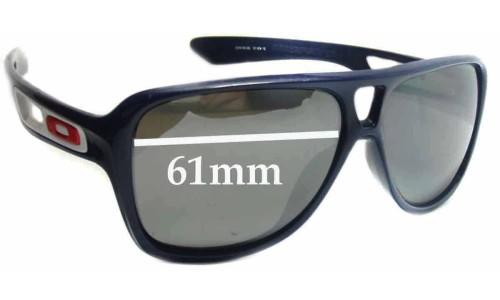 Sunglass Fix Sunglass Replacement Lenses for Oakley Dispatch II - 61mm wide