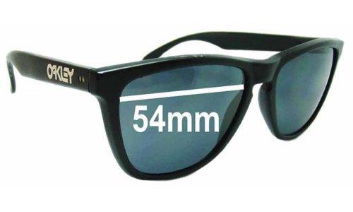 Sunglass Fix Sunglass Replacement Lenses for Oakley Frogskins Gen. 1 - 54mm Wide