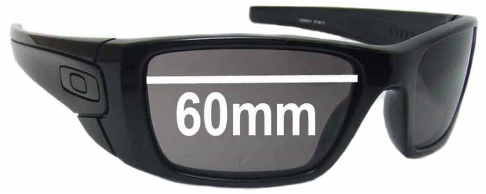 fe5066f98fa Oakley Fuel Cell 009096 Sunglass Replacement Lenses - 60MM ...