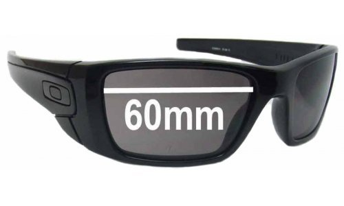 Sunglass Fix Sunglass Replacement Lenses for Oakley Fuel Cell OO9096 - 60mm Wide