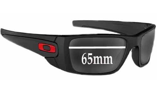 Sunglass Fix Sunglass Replacement Lenses for Oakley Fuel Cell - 65mm Wide