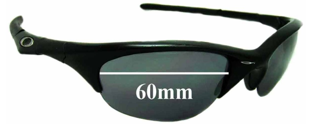 3fe51796a8 Oakley Half Jacket Sunglass Replacement Lenses 60mm wide