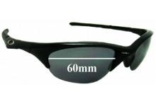 Sunglass Fix Sunglass Replacement Lenses for Oakley Half Jacket - 60mm Wide