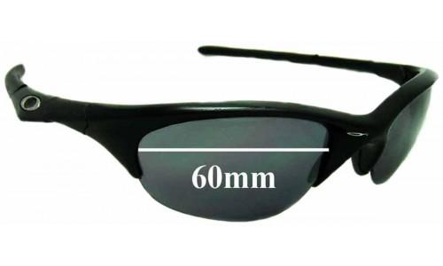 Sunglass Fix Sunglass Replacement Lenses for Oakley Half Jacket 60mm wide