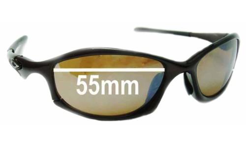 Sunglass Fix Sunglass Replacement Lenses for Oakley Hatchet - 55mm Wide