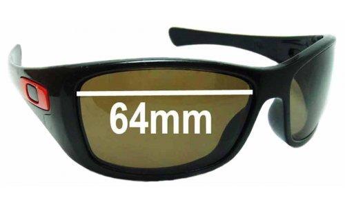 Sunglass Fix Sunglass Replacement Lenses for Oakley Hijinx OO9021 - 64mm Wide
