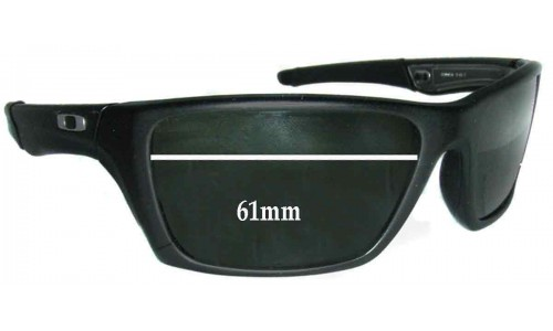 Sunglass Fix Sunglass Replacement Lenses for Oakley Jury - 61mm wide