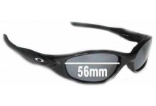 Sunglass Fix Sunglass Replacement Lenses for Oakley Minute 2.0 - 56mm Wide