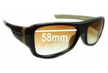 Sunglass Fix Sunglass Replacement Lenses for Oakley Montefrio - 58mm Wide