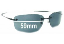 Sunglass Fix Sunglass Replacement Lenses for Oakley Nanowire 1.0 - 59mm Wide
