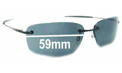 Sunglass Fix Sunglass Replacement Lenses for Oakley Nanowire 1.0 - 59mm Wide