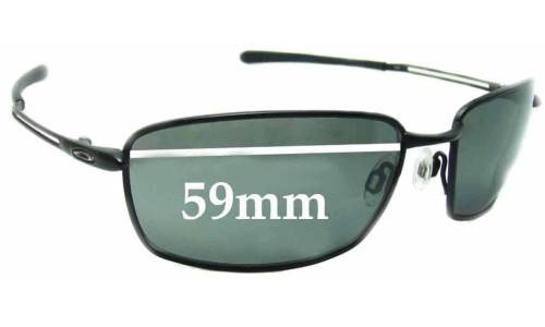 Sunglass Fix Sunglass Replacement Lenses for Oakley Nano Wire 4.0 - 59mm wide
