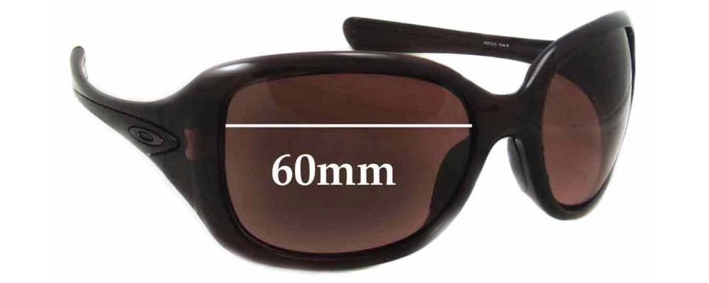Sunglass Fix Sunglass Replacement Lenses for Oakley Necessity - 60mm Wide