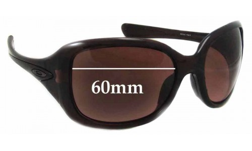Sunglass Fix Sunglass Replacement Lenses for Oakley Necessity - 60mm Wide