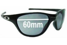 Sunglass Fix Sunglass Replacement Lenses for Oakley New Frogskins 1996-2004 - 60mm Wide