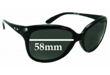 Sunglass Fix Sunglass Replacement Lenses for Oakley Pampered OO9160 - 58mm Wide