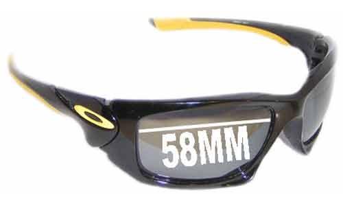 Sunglass Fix Sunglass Replacement Lenses for Oakley Scalpel - 58mm wide