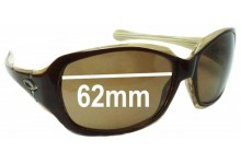Sunglass Fix Sunglass Replacement Lenses for Oakley Script (Asian Fit) - 62mm Wide