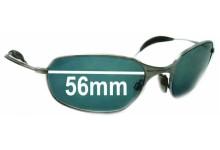 Sunglass Fix Sunglass Replacement Lenses for Oakley Square Wire - Version 1.0 or Originals - 56mm Wide