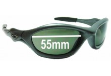 Sunglass Fix Sunglass Replacement Lenses for Oakley Unknown - 55mm Wide