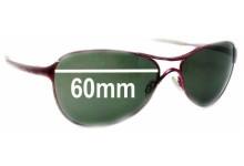 Sunglass Fix Sunglass Replacement Lenses for Oakley Warden - 60mm Wide
