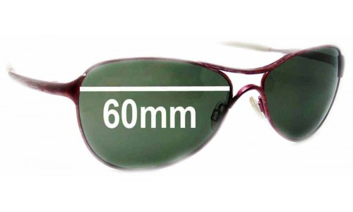 Sunglass Fix Sunglass Replacement Lenses for Oakley Warden - 60mm wide