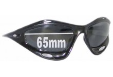 Sunglass Fix Sunglass Replacement Lenses for Oakley Racing Jacket - 65mm Wide
