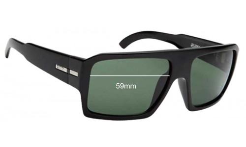 Sunglass Fix Sunglass Replacement Lenses for Otis Louie Sunglass Replacement Lenses- 59mm wide