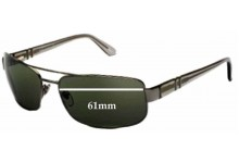 Sunglass Fix Sunglass Replacement Lenses for Persol 2279-S - 61mm Wide