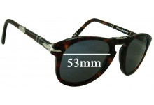 Sunglass Fix Sunglass Replacement Lenses for Persol Steve McQueen - 53mm Wide