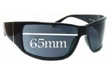 Sunglass Fix Sunglass Replacement Lenses for Police S1532 - 65mm Wide