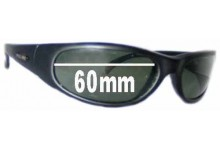 Sunglass Fix Sunglass Replacement Lenses for Police Mod 8034 - 60mm Wide