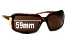 Sunglass Fix Sunglass Replacement Lenses for Prada SPR01H - 59mm Wide