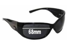 Sunglass Fix Sunglass Replacement Lenses for Prada SPR03G 68mm Wide (NOT SPR03G 2AU2Z1 or 1AB1A1)