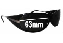 Sunglass Fix Sunglass Replacement Lenses for Prada SPR07I - 63mm Wide