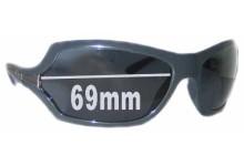 Sunglass Fix Sunglass Replacement Lenses for Prada SPR11G - 69mm Wide