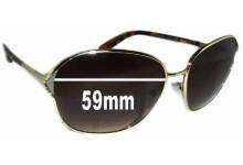 Sunglass Fix Sunglass Replacement Lenses for Prada SPR58M - 59mm Wide