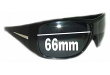 Sunglass Fix Sunglass Replacement Lenses for Prada Unknown Model - 66mm Wide