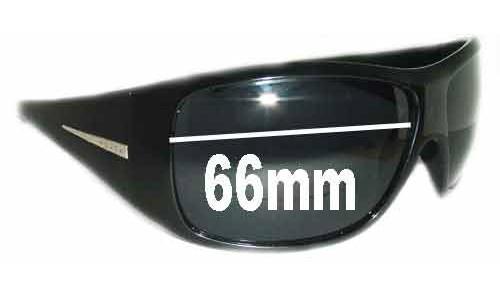 Sunglass Fix Sunglass Replacement Lenses for Prada Unidentifed - 66mm Wide