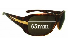 Sunglass Fix Sunglass Replacement Lenses for Prada Unknown model - 65mm Wide x 48mm Tall