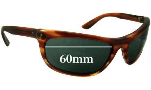 Sunglass Fix Sunglass Replacement Lenses for Ray Ban L2872 Baloramas Bausch Lomb - 60mm Wide