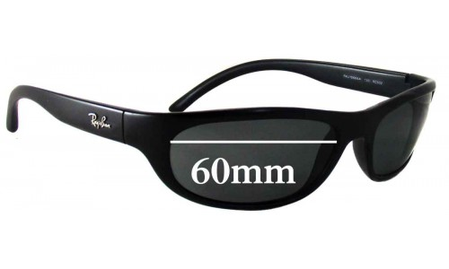 Sunglass Fix Sunglass Replacement Lenses for Ray Ban RAJ1566AA - 60mm wide